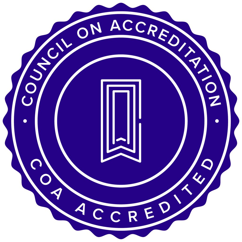 COA accreditation seal